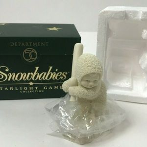Department 56 Snowbabies Batter Up Figurine
